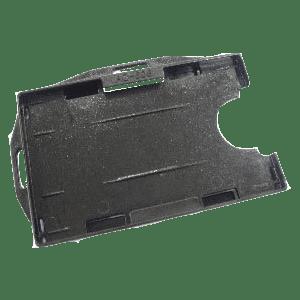 Black Rigid ID Card Holder