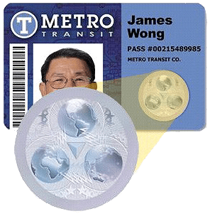 Security ID cards and Foils