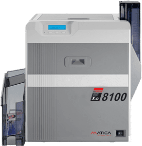 Matica XID8100 ReTransfer Card Printer