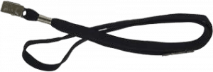 Black Lanyard for Staff Security ID
