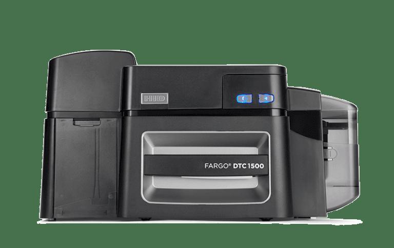 Fargo DTC1500 ID Card Printer Front Image