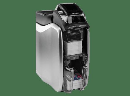 Zebra ZC100 Card Printer opened